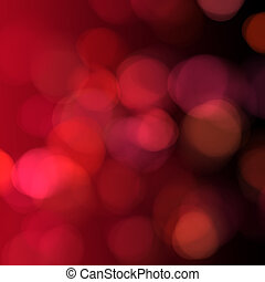 Red lights background
