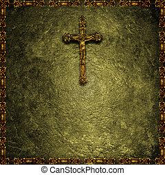 Christian religious background - Christian motif religious...