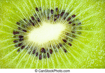 Kiwi Fruit Close Up Background