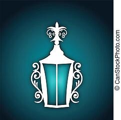 Forging lantern for Ramadan Kareem