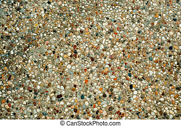 Exposed aggregate finish - Background of Concrete and...