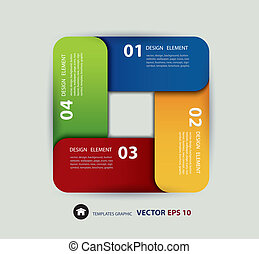 Vector paper lines and numbers desi