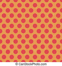 Retro dot pattern background - Seamless retro dot pattern...