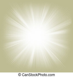 Elegant design with a burst. EPS 10 vector file included