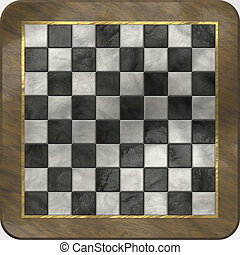 Chess Board Luxury Set