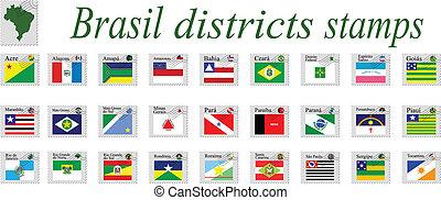 brasil stamps