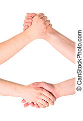 Competition and compromise hand composition of caucasian...