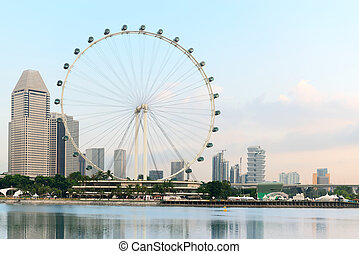 Ferris wheel - Singapore Flyer - Singapore Flyer - the...