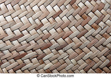 rattan texture can be used as background