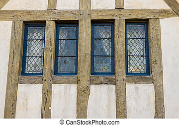 Traditional french windows - the monastry on the Mountain...