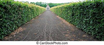 Path to a chapel