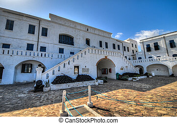 Cape Coast Castle - Ghana - Cape Coast Castle is a...