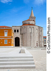 Church of Saint Donatus, romanesque building from the 9th...