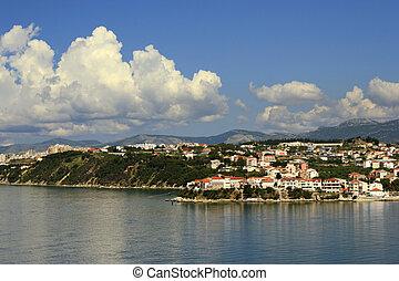 Croatia coast landscape - Croatian coast landscape daytime...