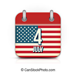 Calendar for Independence Day