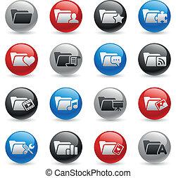 Folder Icons - Set 2 -- Gel Pro Ser