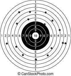 holes in target sport