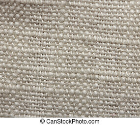 background of white cloth. macro