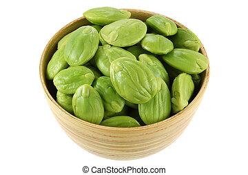Stink Bean Parkia speciosa - A Bowl of Stink Bean Parkia...