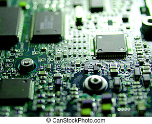 New Technology - Electronics Industry, Component, Silicon,...