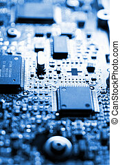 Technology - Electronics Industry, Component, Silicon,...