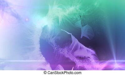 fur background color mix - The fur animation background