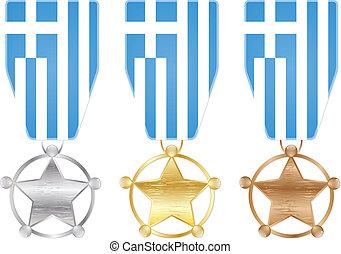 medals - greece