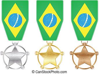 brazil medals