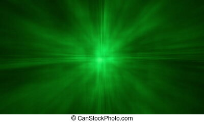 Abstract Aura Star Shine BG Green