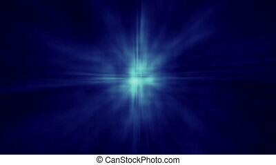 Abstract Aura Star Shine BG Blue