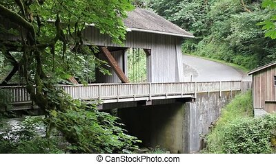 Cedar Creek Grist Mill 1080p - Covered Bridge and Historic...