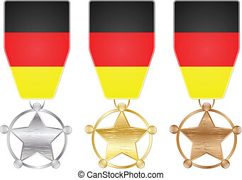 germany medals