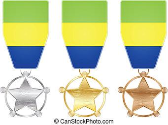 gabon medals