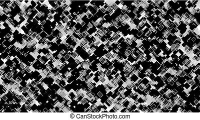 black square block mosaics,computer chip board,math...