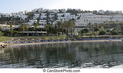 Beach on Mediterranean resort - Beach on Mediterranean...