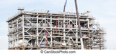 Panorama Gas Factory - Panorama Assembling of liquefied...