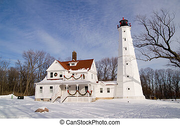 North Point Lighthouse - Milwaukee North Point Lighthouse
