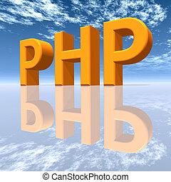 PHP - Hypertext Preprocessor - Computer generated 3D...