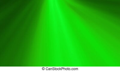 Green Rotating Soft Rays Background