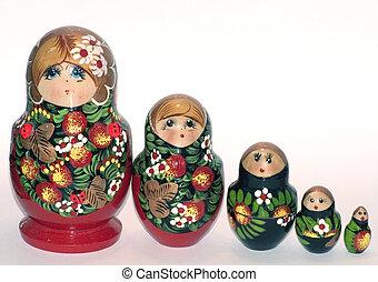 ruso, Muñecas