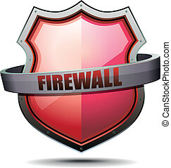 Coat of Arms Firewall - detailed illustration of a coat of...