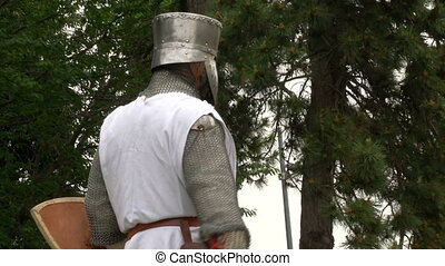 medieval crusader fighting - Fighting medieval knights