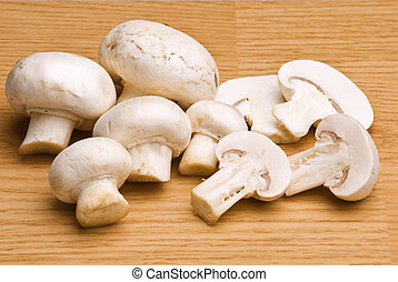 mushroom for eating, food preparing