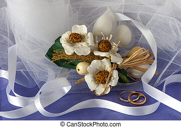 Wedding favors and ring - a wedding favors and wedding ring...