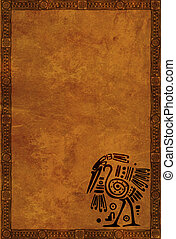 Indian national patterns - Background with American Indian...