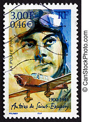 FRANCE - CIRCA 2000: a stamp printed in the France shows...