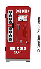 soft drink machine - fifties soft drink machine