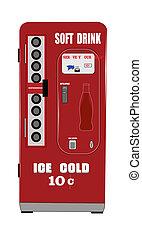 soft drink machine - fifties soft drink machine