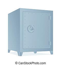 silver bank safe