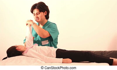 Physiotherapy for children hand